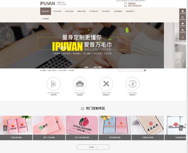 营销型网站展示